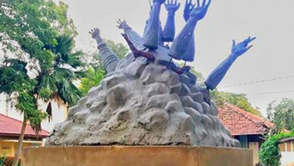Hartal to be launched against removal of monument in Jaffna