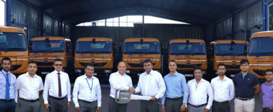 ADVANTIS Projects & Engineering opts for TATA SIGNA 4018.S Prime Movers from DIMO