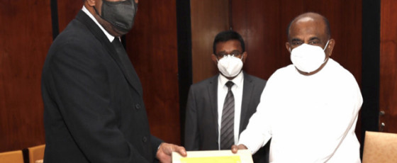 Speaker gets copy of PCoI Report