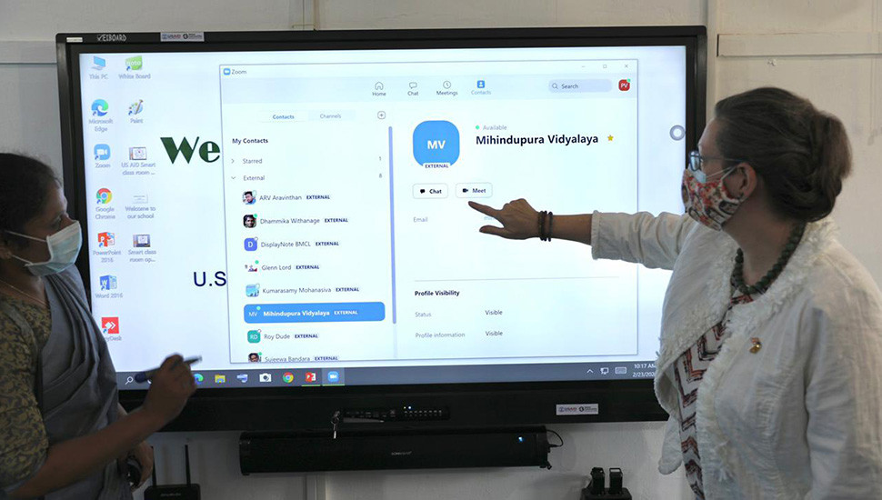 USAID funded 'Smart Classrooms' open in East