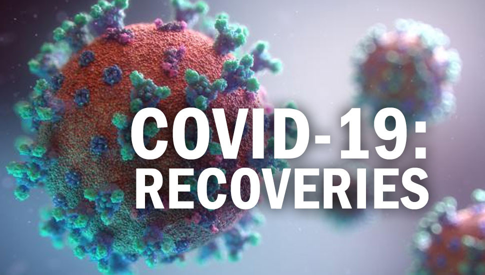 Covid-19 : 843 new recoveries