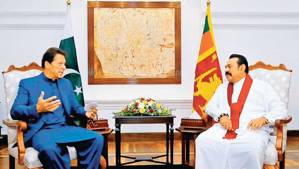 Khan's visit shows his deep affinity with  Sri Lanka – PM