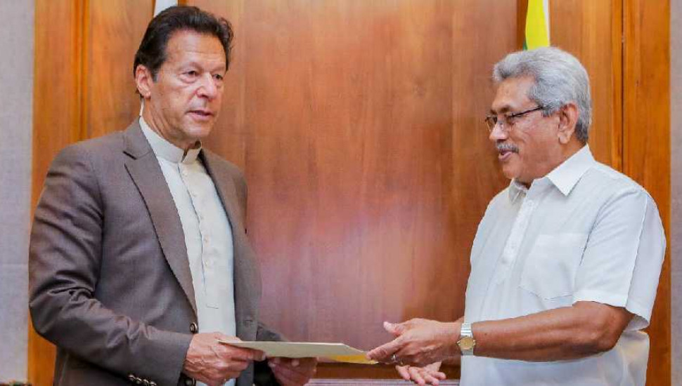 President & Pakistani PM holds bilateral discussions