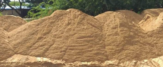 Sand and timber at concessionary prices