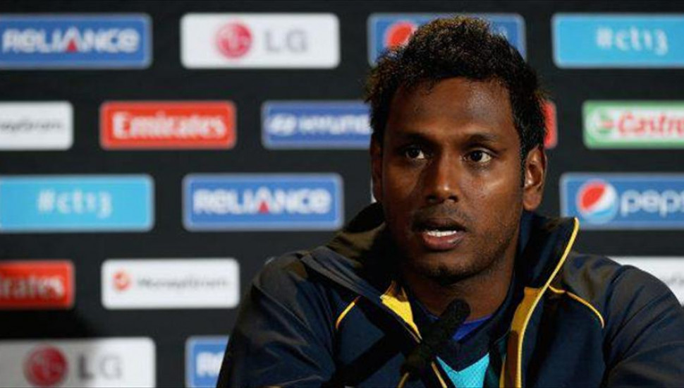 Mathews named stand-in skipper for West Indies T20 series