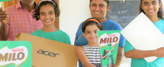 Milo to provide 10,000 children with Rs 10 million worth support