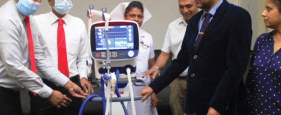 LB FINANCE donates  ventilators to Apeksha Hospital