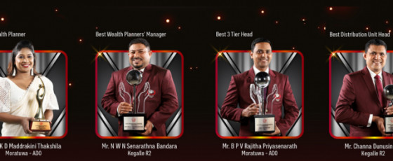 AIA Insurance felicitates top performers