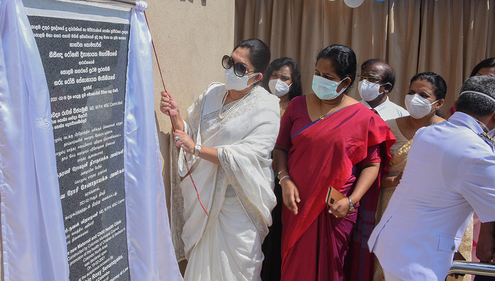 Maternity home constructed in Mattakkuliya: With all facilities of a private hospital – Mayor of Colombo