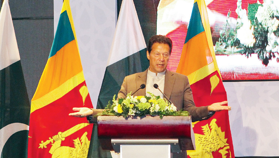 Pakistan Premier's  Arrival Moots New Chapter  in SL-Centric Geopolitics