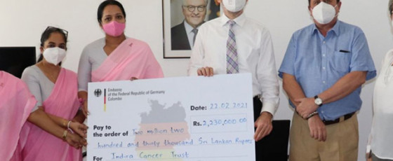 German Embassy inks deal with Indira Cancer Trust