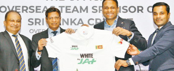 JAT Holdings 'Official Overseas Team Sponsor of SLC'