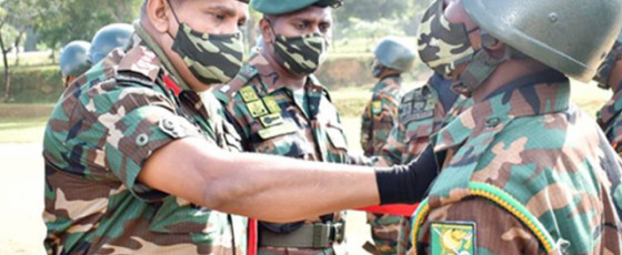 Army Training School: 14 officers and 258 other rankers graduate