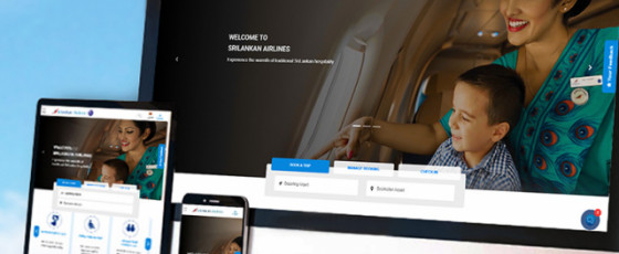 SriLankan Airlines relaunches website