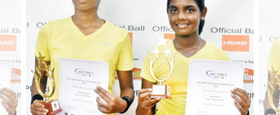 Akeesha, Movindi win U-14 girls doubles title