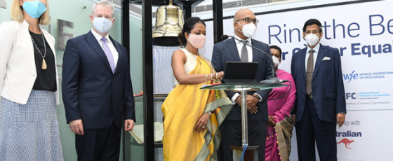 IFC Partners with CSE to Ring the Bell