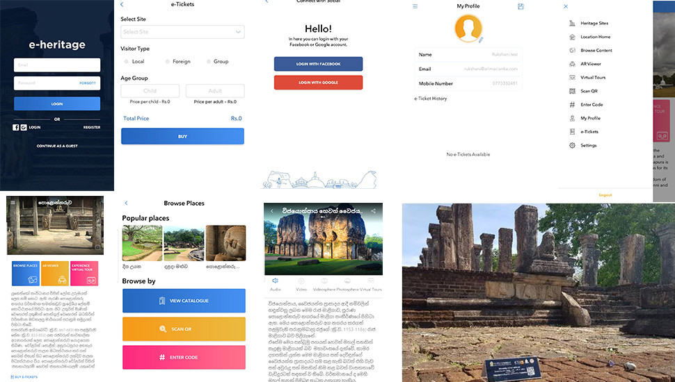 Latest app for local, foreign tourists: 'Heritage Sri Lanka'