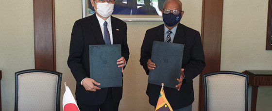 Demining activities in North: Japan donates US$ 636,363 to DASH