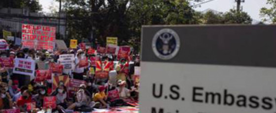 Asian Demonstrators and the American Dream