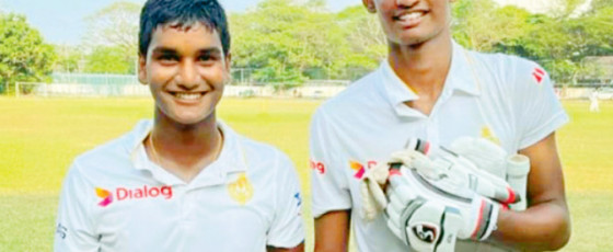 Under-19 Schools Cricket: Ahan and Sadisha in  unbroken 362 runs stand