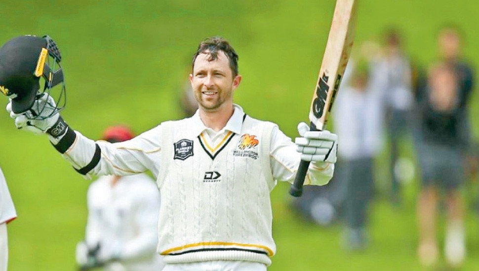 Conway included in New Zealand test squad for England tour