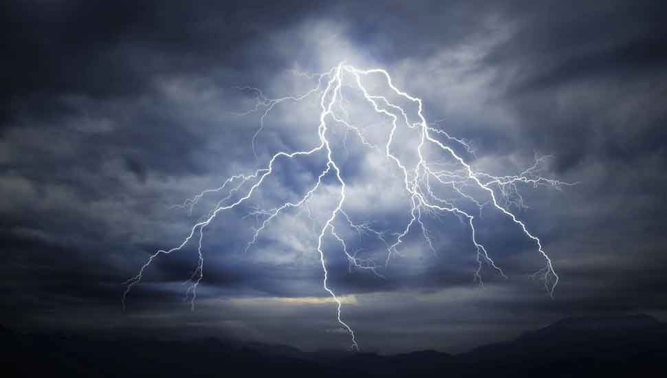 Severe lightning advisory issued for five Districts