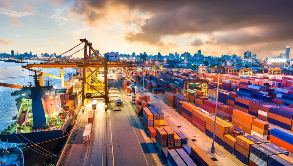 Trade Deficit  Contracts 6% Jan-Feb