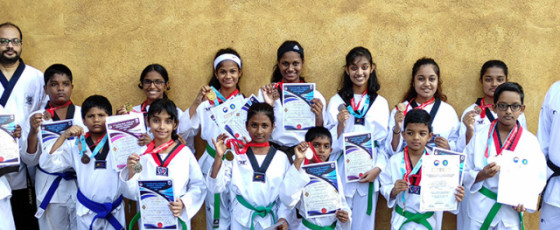 Elite Taekwondo Club Wins 20 Medals