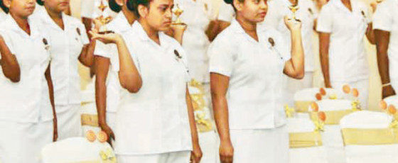 Lanka Hospitals Nursing School produces 52 new nurses
