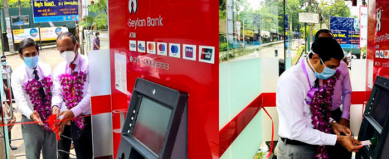 Seylan Bank installs new ATM at Ratnapura Teaching Hospital