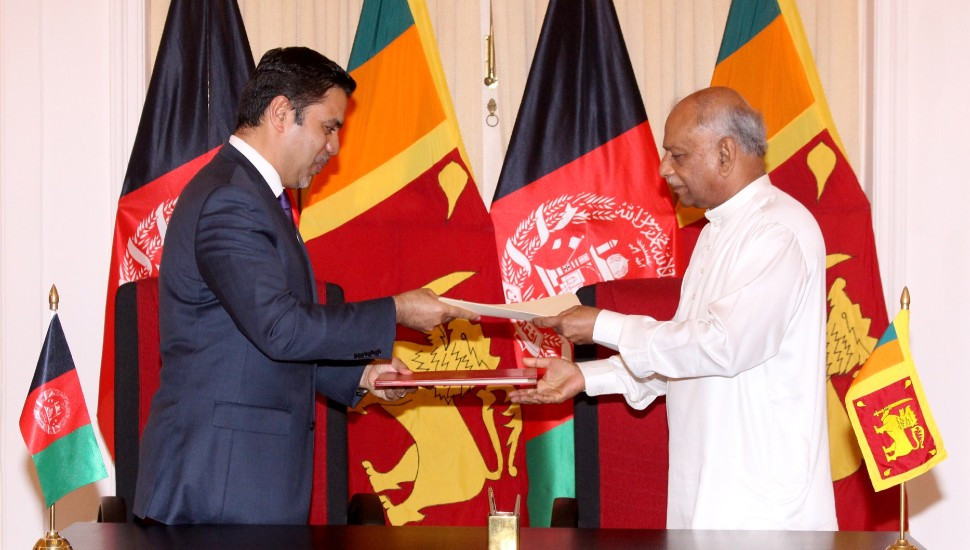 SL and Afghanistan sign MoU on political consultations