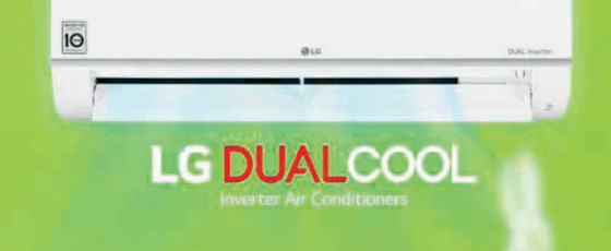 An LG Inverter Air  Conditioner costs less than a cup of tea per night's sleep
