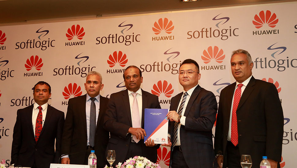 Softlogic teams up with Huawei