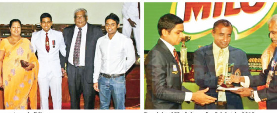 Dinuk Wikramanayaka,  Versatile Trinitian who Excelled in Cricket and Academics