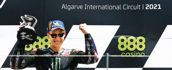 Portuguese Grand Prix: Quartararo eases to win, Marquez seventh