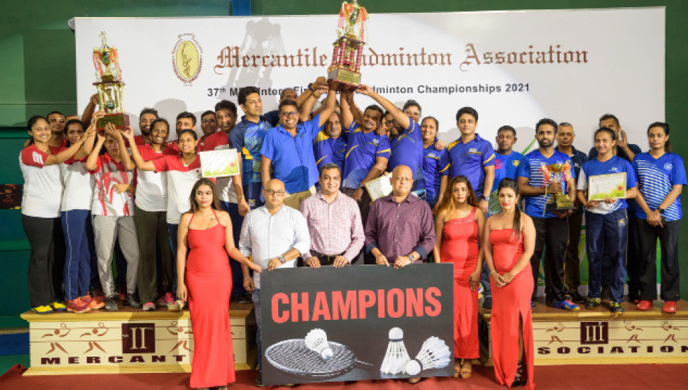 MBA Inter-Firm Team Championships: HNB clinch overall title