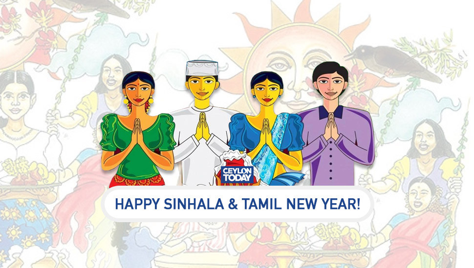 Happy Sinhalese and Tamil New Year!