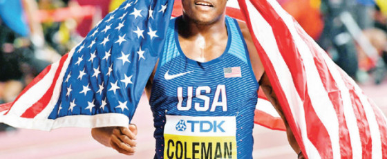 World Champion Coleman  Gets Reduced Ban