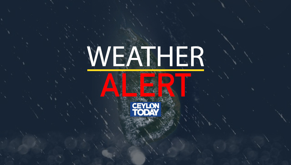 Adverse weather to prevail across SL