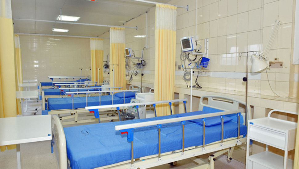 New COVID-19 Hospital opens today