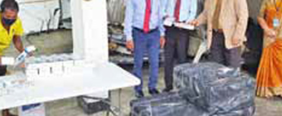 Customs seizes Rs 9B worth smuggled fags