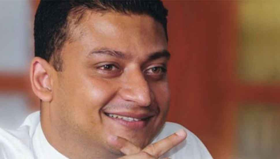 Dilum Amunugama sworn in as State Minister for Community Police Services