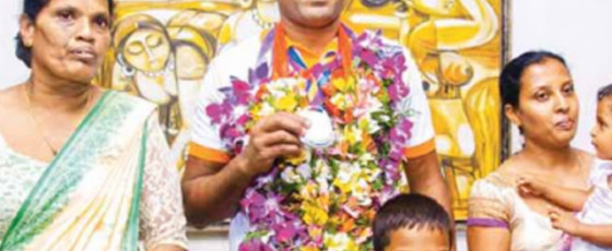 Dinesh Priyantha - From outskirts of Anuradhapura to Paralympic medalist