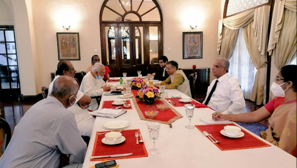 TNA meets Indian High Commissioner, discusses PC Elections