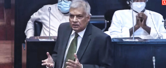 Ranil questions Army Commander's role; says MR should take the reins