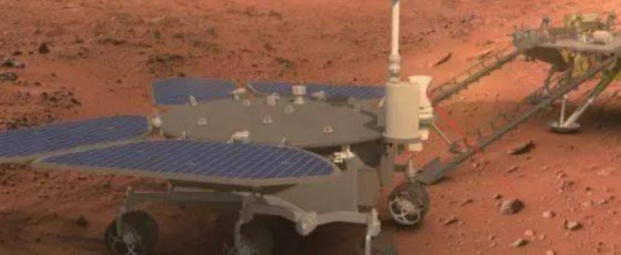 China's Zhurong Mars rover takes a selfie