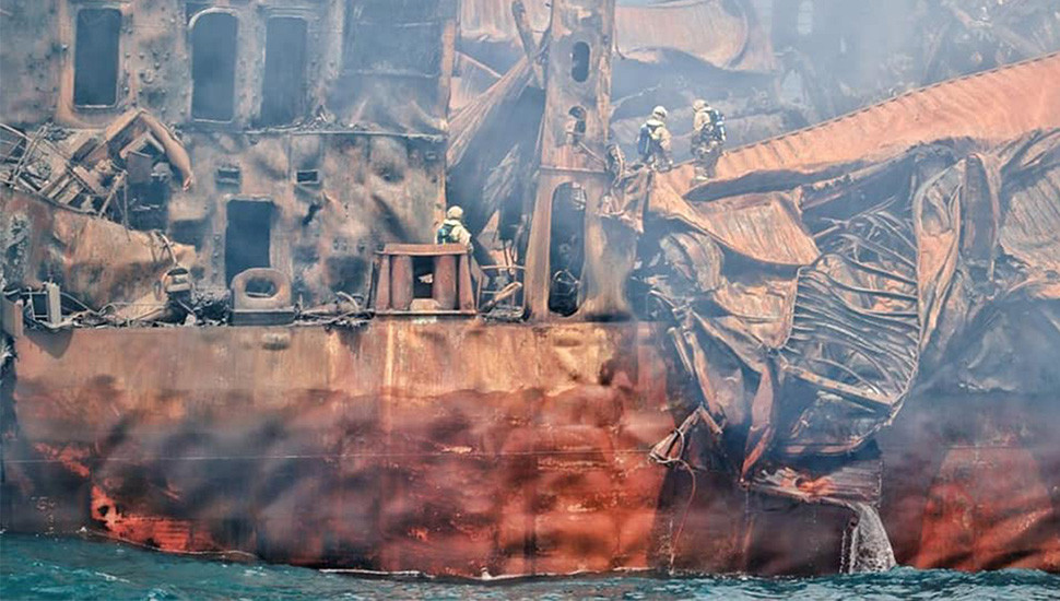 Oil situation in wrecked ship closely monitored – SLPA