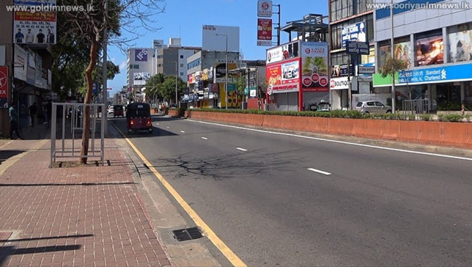 Traffic on Galle Road to Colombo from Wellawatta restricted from tomorrow