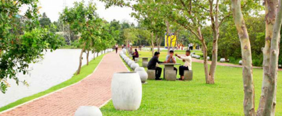 Cabinet GreenLights Beautifying 100 Cities