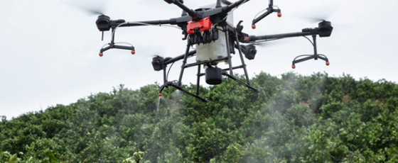 Sumathi IT (SIT), Advances with Industrial Drones to Uplift Agriculture